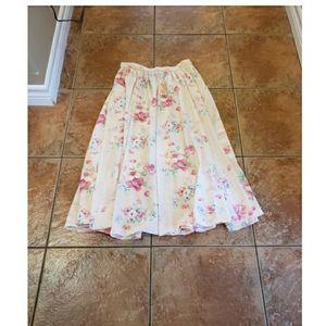Ralph Lauren purple label floral skirt 4